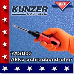 KUNZER Akku Schraubendreher 7ASD03